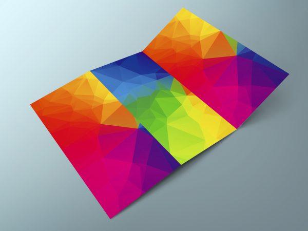 stampa pieghevoli piccolo formato