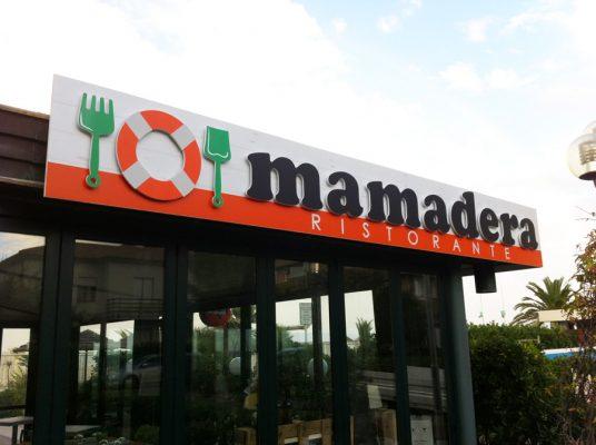 insegna per ristorante publi in fano
