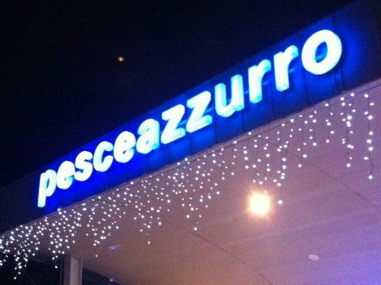 insegna Luminosa ristorante self service fano