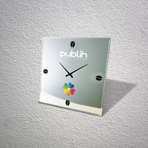 orologio a specchio personalizzato